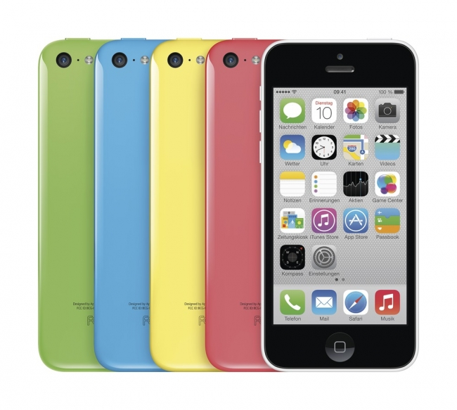 Apple iPhone 5C - iOS Smartphone - 4 Zoll - LTE - 16 GB - WLAN - GPS - white