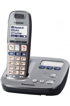 Panasonic KX-TG 6571GM -schnurloses Telefon - ECO Mode - graphit