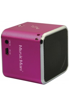 Technaxx MusicMan - Mini Wireless Soundstation - BT-X2 - pink