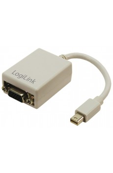 LogiLink - Adapter Mini DisplayPort zu VGA - Verbindungskabel