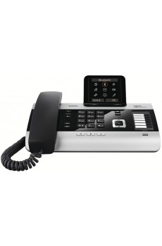 Gigaset DX800A All in one - schnurgebundenes Telefon - titanium