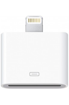 Apple - Adapter - Lightning auf 30-polig - Adapter Stecker - weiß