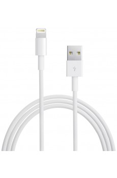Apple Lightning-USB-Kabel 1m weiß MD818ZM/A