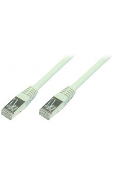 Patchkabel - Cat5e - U/UTP - 10 Meter - grau