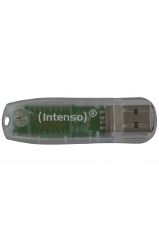 Intenso - USB-Drive 2.0 - Speicher Stick - Rainbow Line - 32 GB - transparent