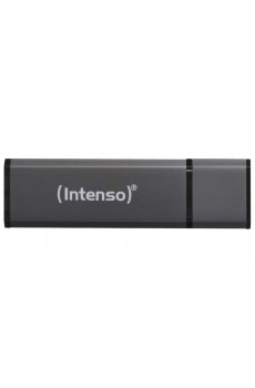 Intenso - USB-Drive 2.0 - USB Stick - Alu Line - 4 GB - anthrazit