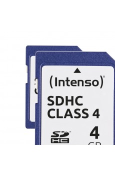 Intenso - Secure Digital Card SD - Class 4 - 4 GB Speicherkarte