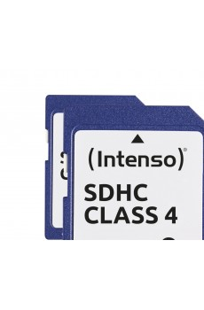 Intenso - Secure Digital Card SD - Class 4 - 8 GB Speicherkarte
