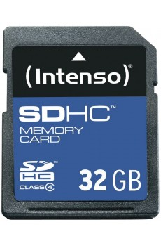 Intenso - Secure Digital Card SD - Class 4 - 32 GB Speicherkarte