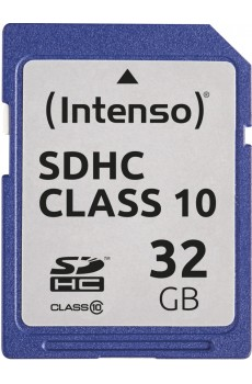 Intenso - Secure Digital Card SD - Class 10 - 32 GB Speicherkarte