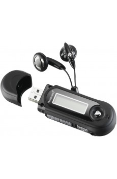 Intenso - Music Walker - MP3-Player - 8 GB - schwarz