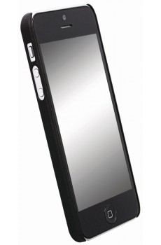 Krusell - ColorCover - Hardcover - Apple iPhone 5 - black metallic