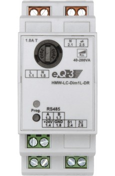 eQ-3 - HomeMatic Wired RS485 Dimmaktor 1-fach - Phasenanschnitt - Hutschienenmontage