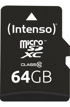 Intenso microSDXC 64GB Class 10 inkl. SD-Adapter