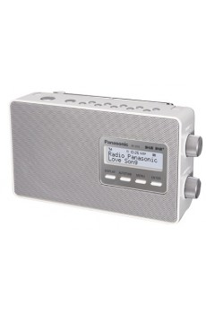 Panasonic RF-D10EG Digital Radio - DAB/DAB+ - UKW - Sleep Timer - weiss