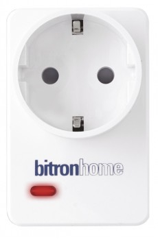 Bitron Smart Plug - Dimmfunktion - Qivicon - weiss
