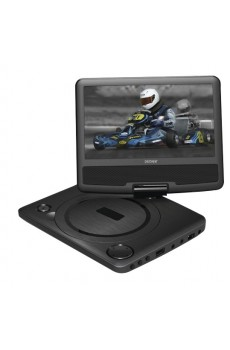Denver MT-783NB - portabler DVD-Player - USB - drehbarer Monitor