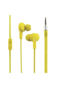 LogiLink Sports-Fit In-Ear Headphone neon yellow