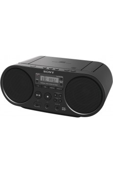 Sony ZS-PS55B Boombox CD/ Radio Player, DAB+, schwarz