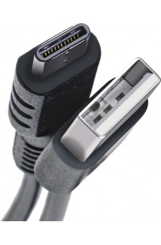 Celly USB Typ C Datenkabel 1 m black