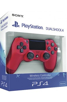 Sony PlayStation 4 PS4 Dualshock Wireless Controller V2, Magma red