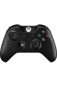 Microsoft Xbox One S Wireless Controller, schwarz