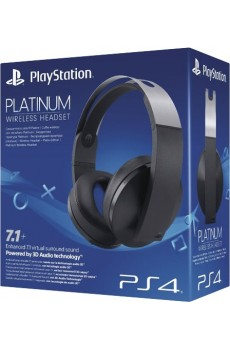 Sony Playstation 4 PS4 Platinum Wireless Headset