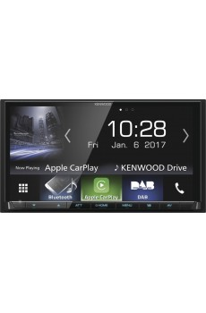 Kenwood DMX-7017DABS 2-DIN Media-Tuner/USB/iPod/Bluetooth/DAB+