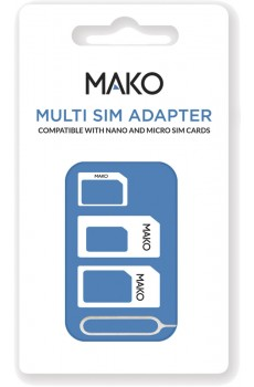 Mako Multi SIM Adapter white