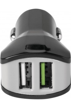 Celly Turbo Car Charger 2x USB 3.4A black