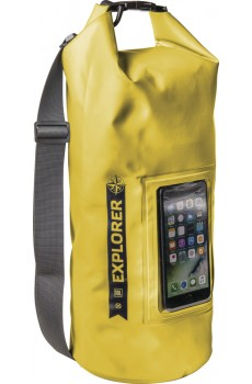 "Celly Explorer Dry Bag (10 L) wasserabweisend (IPX6) bis 6,2"" yellow"