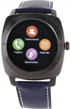 X-Watch Smartwatch Nara XW Pro Black Chrome - navy blue