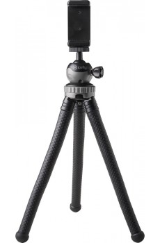 Celly CLICKFLEXTRI flexibler Tripod Stativ black