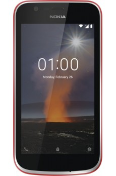 Nokia 1 Dual-SIM warm red