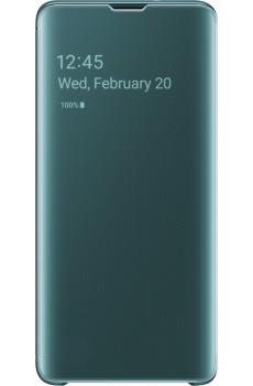 Samsung Clear View Cover SM-G973F / Galaxy S10, green