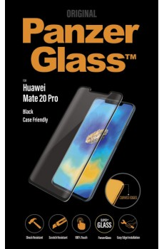 PanzerGlass Huawei Mate 20 Pro Case Friendly Curved Edges, black