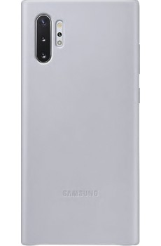 Samsung Leather Cover SM-N975F / Galaxy Note10+, gray