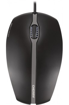 CHERRY GENTIX Corded Optical Illuminated Mouse, schwarz