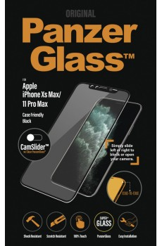 PanzerGlass Apple iPhone XS Max/11 Pro Max CF CamSlider E-to-E, black