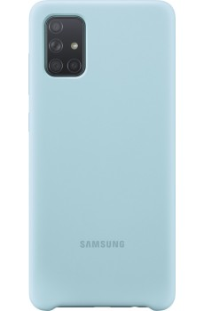Samsung Silicone Cover Galaxy A71, blue