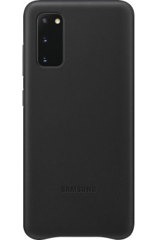 Samsung Leather Cover Galaxy S20_SM-G980, black