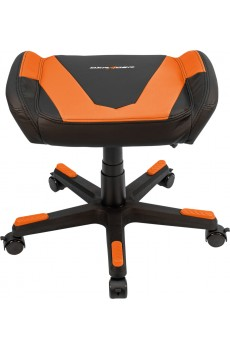 DXRacer Footrest, Kunstleder, schwarz-orange