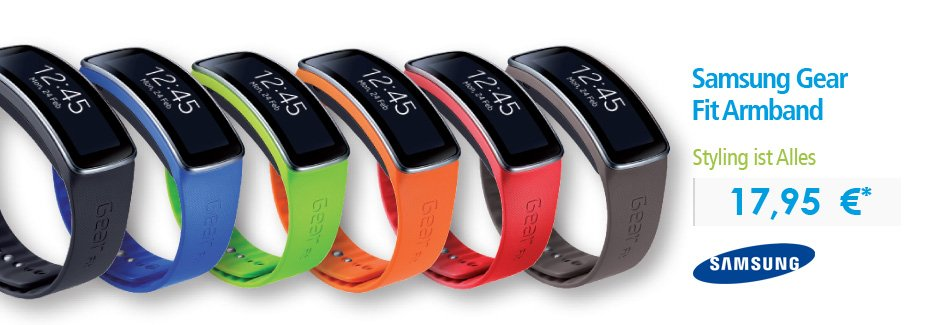 Samsung Gear Fit Armband
