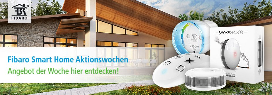 Fibaro Smart Home Aktionswochen