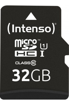 Intenso microSDHC 32 GB UHS-I Class 10 inkl. SD-Adapter