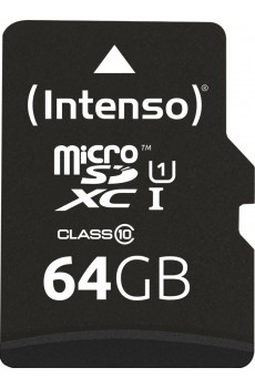 Intenso microSDXC 64GB UHS-I Class 10 inkl. SD-Adapter