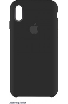 Apple iPhone XS Silicone Case black