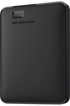 "Western Digital Elements Portable USB 3.0 Festplatte, 2,5"", 2 TB, schwarz"