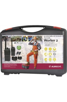 Albrecht Tectalk Worker 2, 2er Kofferset, PMR446