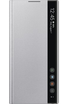 Samsung Clear View Cover SM-N970F / Galaxy Note10, silver